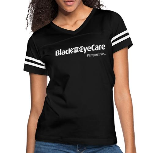 02 BlackEYeCareLogo Transparent 2 - Women's Vintage Sport T-Shirt