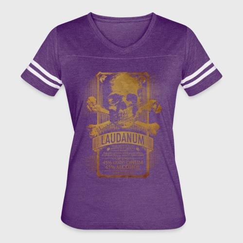 Laudanum Goth Steampunk Medical Doctor - Women's Vintage Sport T-Shirt