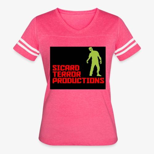Sicard Terror Productions Merchandise - Women's Vintage Sport T-Shirt