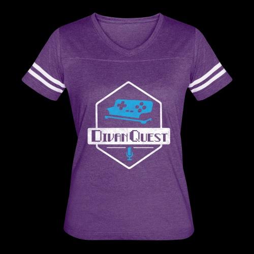 DivanQuest Logo (Badge) - Women's Vintage Sport T-Shirt