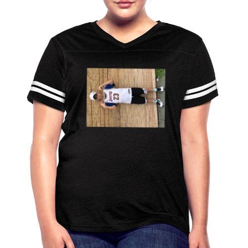 716D913A 7DBD 4832 92E4 8177B1F2C9B7 - Women's Vintage Sports T-Shirt