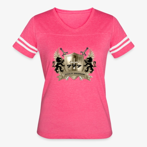 HOLY SPIRIT GOLD SHIELD - Women's Vintage Sport T-Shirt