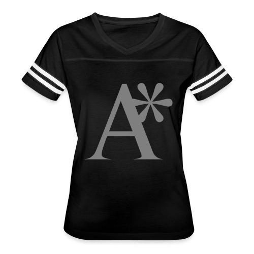 A* logo - Women's Vintage Sports T-Shirt
