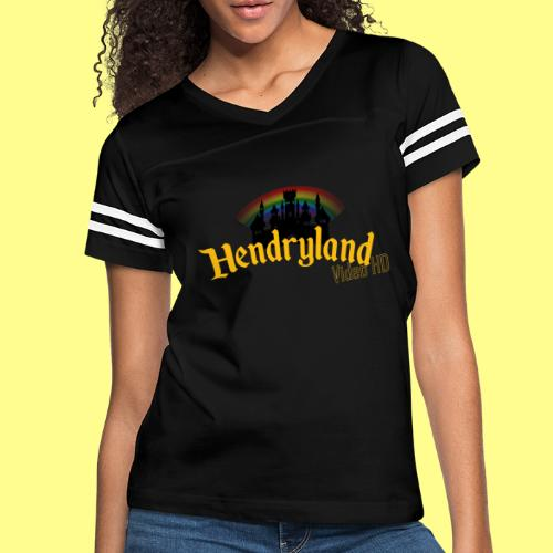 HENDRYLAND logo Merch - Women's Vintage Sport T-Shirt
