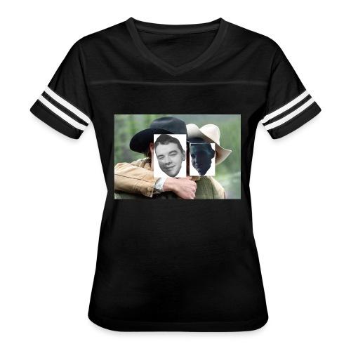 Darien and Curtis Camping Buddies - Women's Vintage Sport T-Shirt