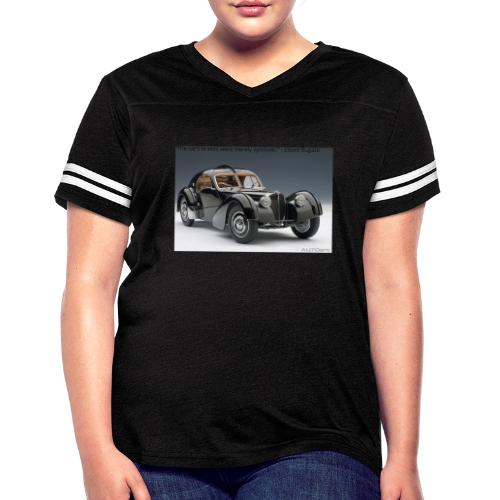 The long lost La Voiture Noire - Women's Vintage Sport T-Shirt