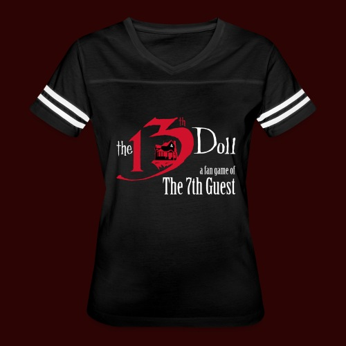 The 13th Doll Logo - Women's Vintage Sport T-Shirt
