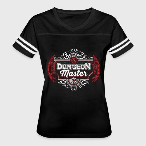 dungeon master filigree fantasy gift d20 shirt - Women's Vintage Sport T-Shirt