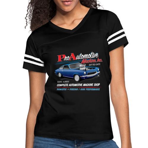ProAutoTeeDesign062317fin - Women's Vintage Sport T-Shirt