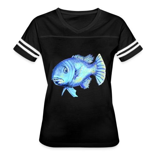 blue fish - Women's Vintage Sport T-Shirt