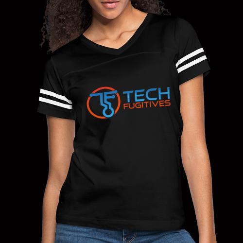 Tech Fugitives Logo T's and Gear - Women's Vintage Sport T-Shirt