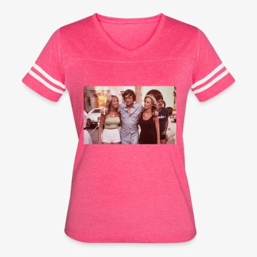 Hugh Hefner - Women's Vintage Sport T-Shirt