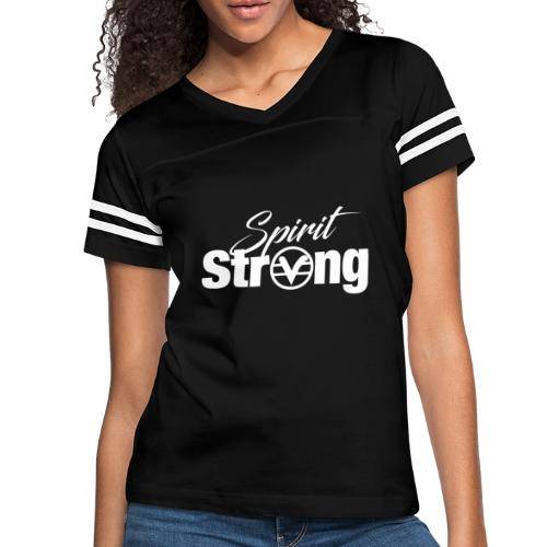 Spirit Strong Tee (Unisex) - Women's Vintage Sport T-Shirt