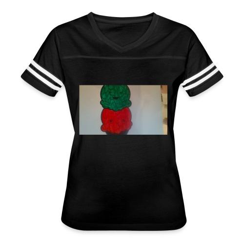 Ice cream t-shirt - Women's Vintage Sports T-Shirt