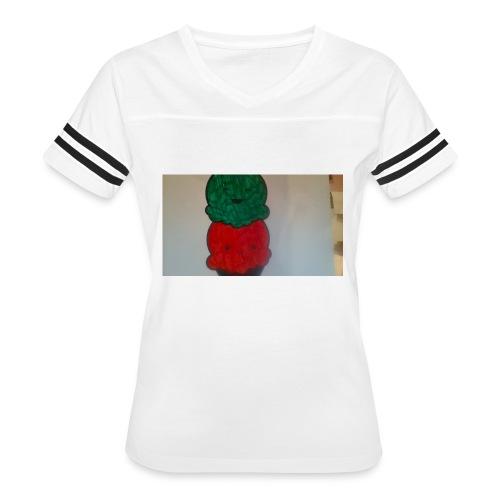 Ice cream t-shirt - Women's Vintage Sport T-Shirt