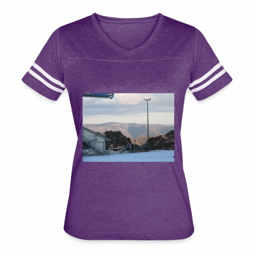Mt Buller - Women's Vintage Sports T-Shirt