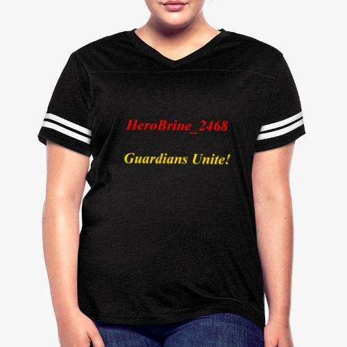 GUARDIANS UNITE - Women's Vintage Sport T-Shirt