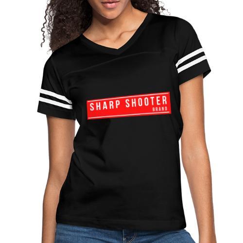 SHARP SHOOTER BRAND 1 - Women's Vintage Sports T-Shirt