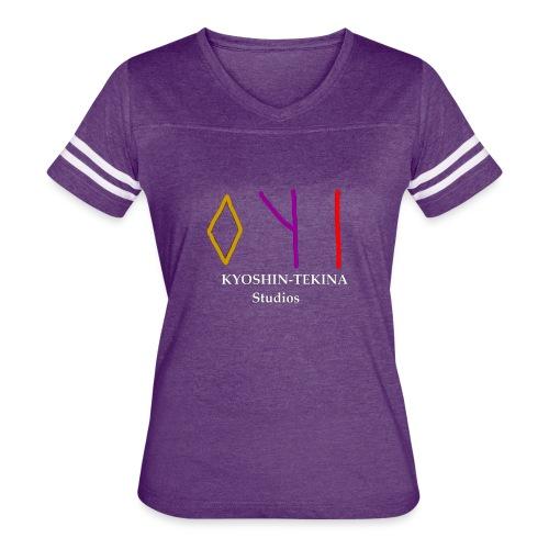 Kyoshin-Tekina Studios logo (white text) - Women's Vintage Sport T-Shirt
