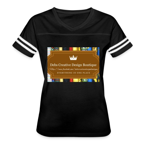 Debs Creative Design Boutique with site - Women's Vintage Sport T-Shirt
