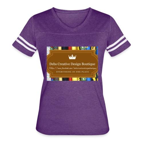 Debs Creative Design Boutique with site - Women's Vintage Sport T-Shirt