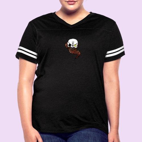 Skull & Snake - Women's Vintage Sport T-Shirt