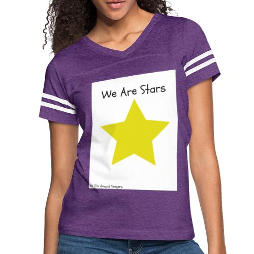 Hi I'm Ronald Seegers Collection-We Are Stars - Women's Vintage Sport T-Shirt