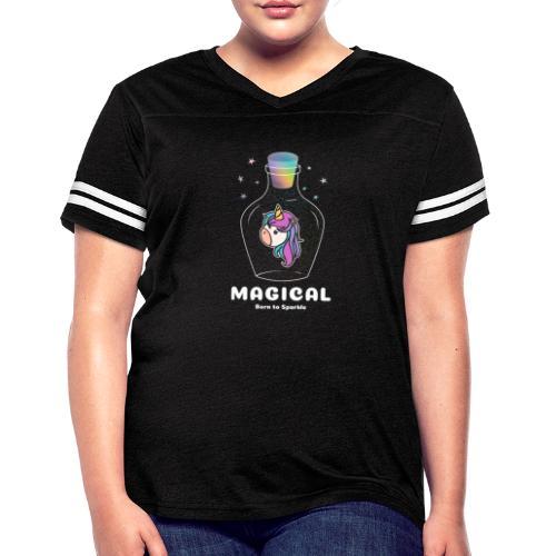 magical bottle design - Women's Vintage Sports T-Shirt