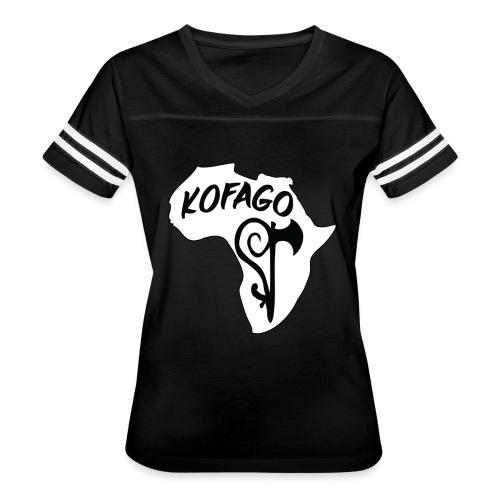 Kofago Logo Inverted - Women's Vintage Sport T-Shirt