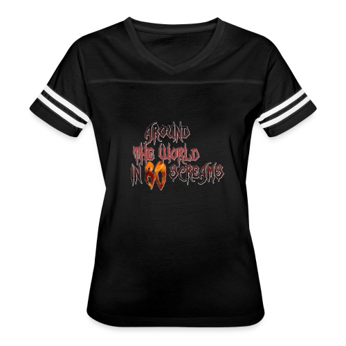 Around The World in 80 Screams - Women's Vintage Sport T-Shirt
