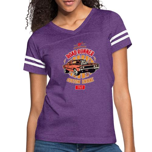 Plymouth Road Runner - American Muscle - Women's Vintage Sports T-Shirt