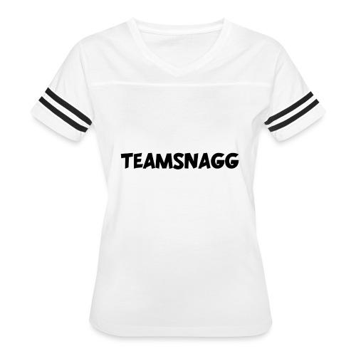 TeamSnagg Logo - Women's Vintage Sport T-Shirt