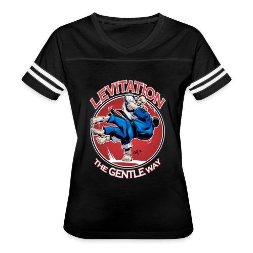 Judo Levitation for dark shirt - Women's Vintage Sport T-Shirt