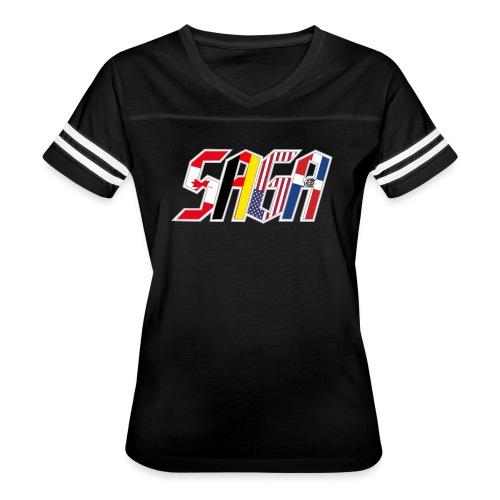 Full Compass Logo - Women's Vintage Sport T-Shirt