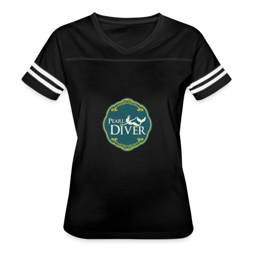 Pearl Diver Swag - Women's Vintage Sports T-Shirt