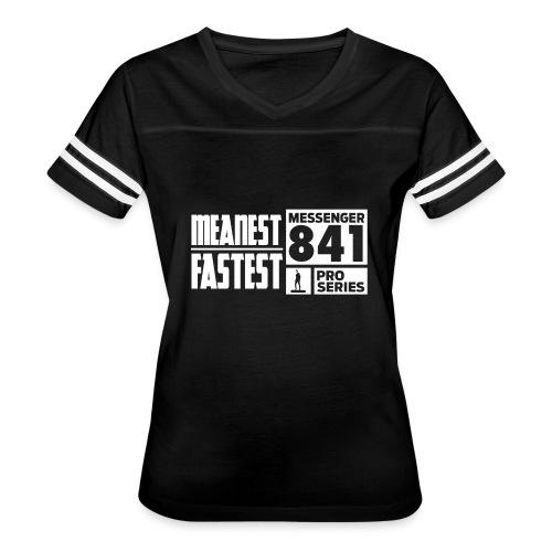 Messenger 841 Meanest and Fastest Crew Sweatshirt - Women's Vintage Sport T-Shirt
