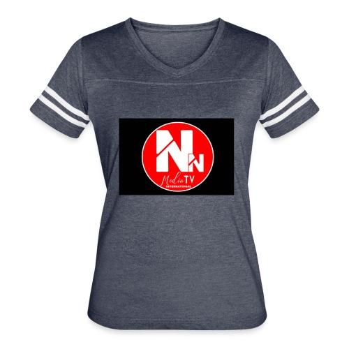 logo NN MEDIA TV - Women's Vintage Sport T-Shirt