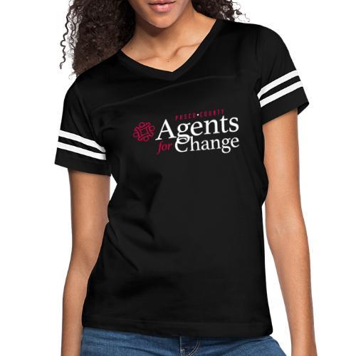 pascoagentsforchange logo - Women's Vintage Sport T-Shirt