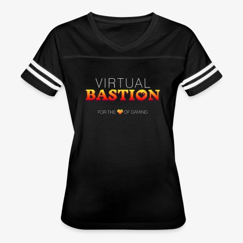 Virtual Bastion: For the Love of Gaming - Women's Vintage Sport T-Shirt
