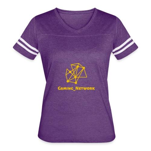 gaming network gold - Women's Vintage Sport T-Shirt