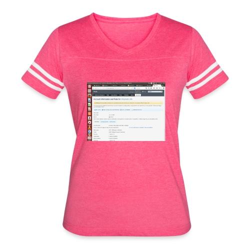 Screenshot from 2016 09 07 02 14 53 - Women's Vintage Sport T-Shirt