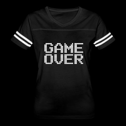 GAME OVER - Women's Vintage Sport T-Shirt