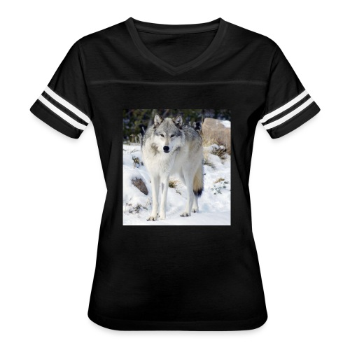 Canis lupus occidentalis - Women's Vintage Sport T-Shirt