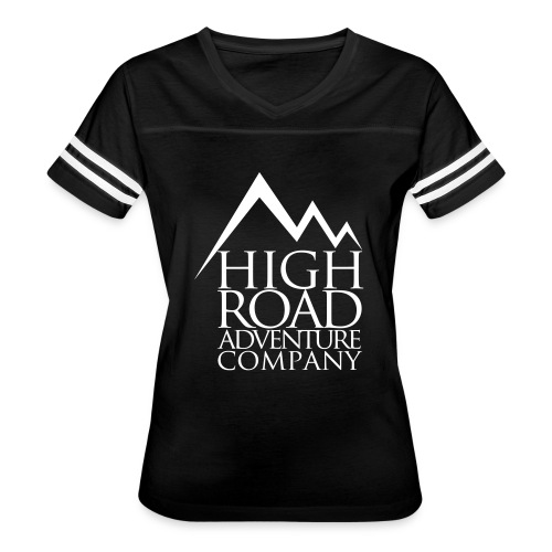 High Road Adventure Company Logo - Women's Vintage Sport T-Shirt