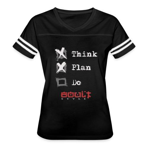 0116 Think Plan Do - Women's Vintage Sport T-Shirt