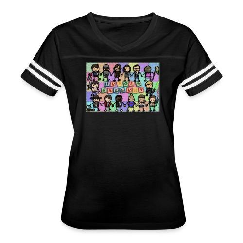 Heroes Gallery - Women's Vintage Sport T-Shirt