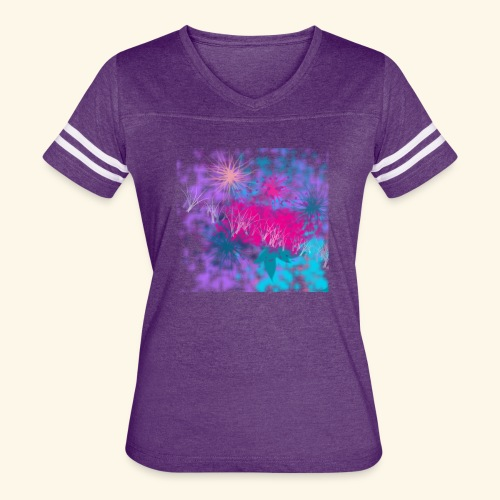 Abstract - Women's Vintage Sport T-Shirt
