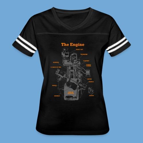 Engine Diagram - Women's Vintage Sport T-Shirt