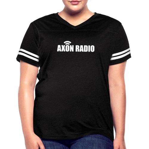 Axon Radio | White night apparel. - Women's Vintage Sport T-Shirt