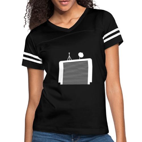 TechGarage White Logo - Women's Vintage Sport T-Shirt